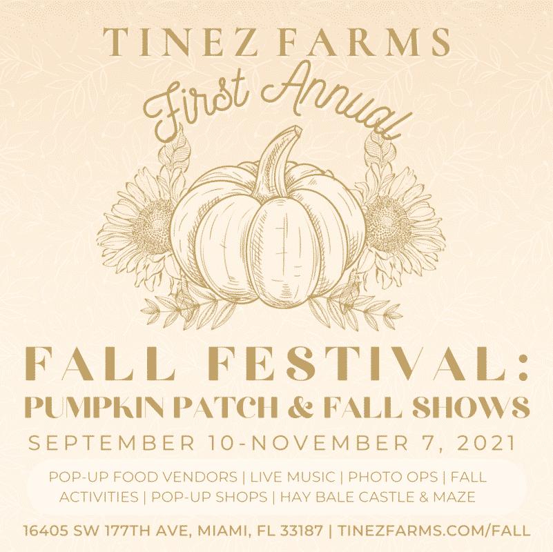Tinez Farms pumpkin patch miami