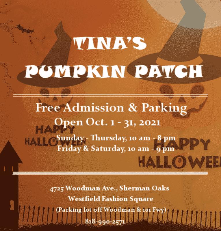 Tinas Pumpkin patch los angeles