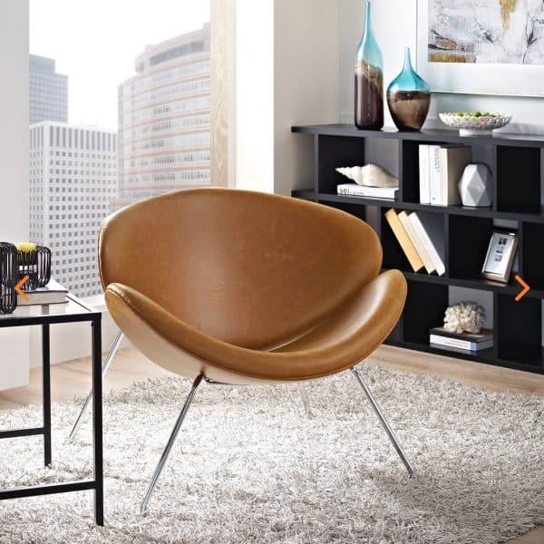 Modern Nutshell Chair EEI-809-TAN