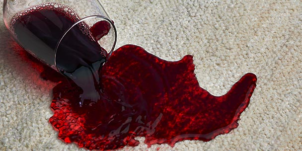 Furniture warranty for wine stain